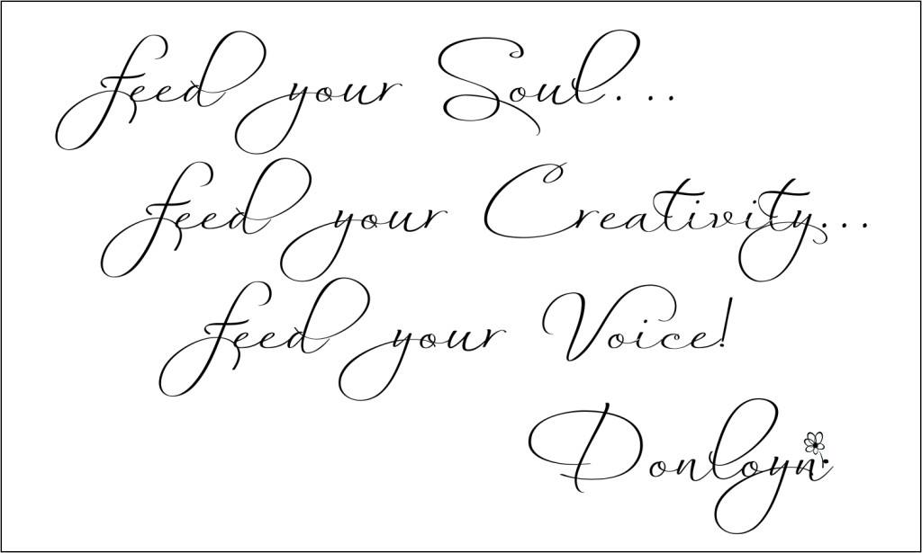 Feed Your Voice